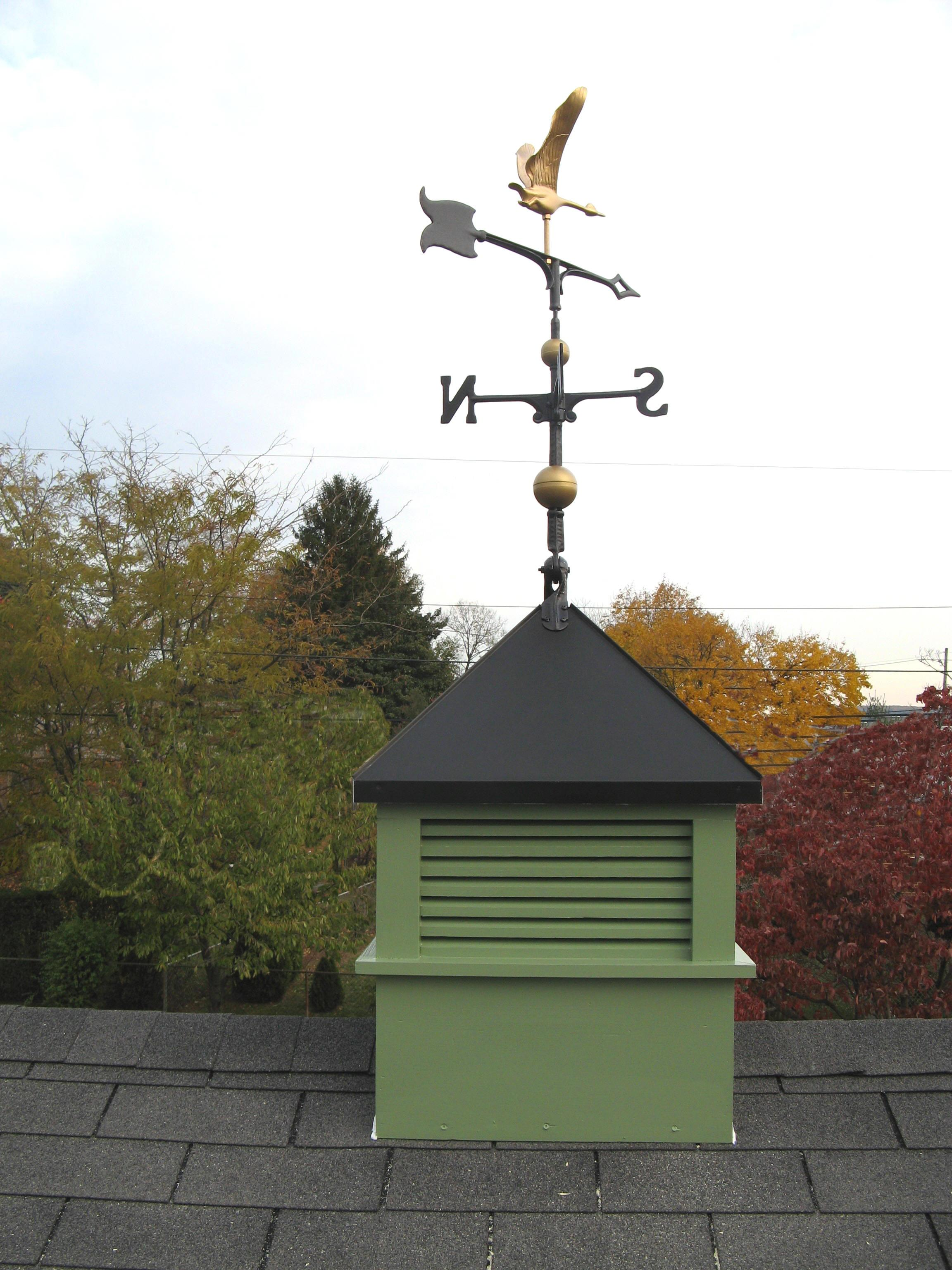 Cupolas myers barn shop for Cupola with weathervane
