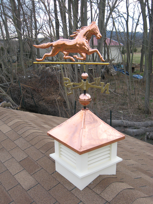 Cupola w-Copper Roof