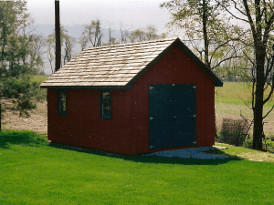 Gable sheds myers barn shop for 12x18 shed window